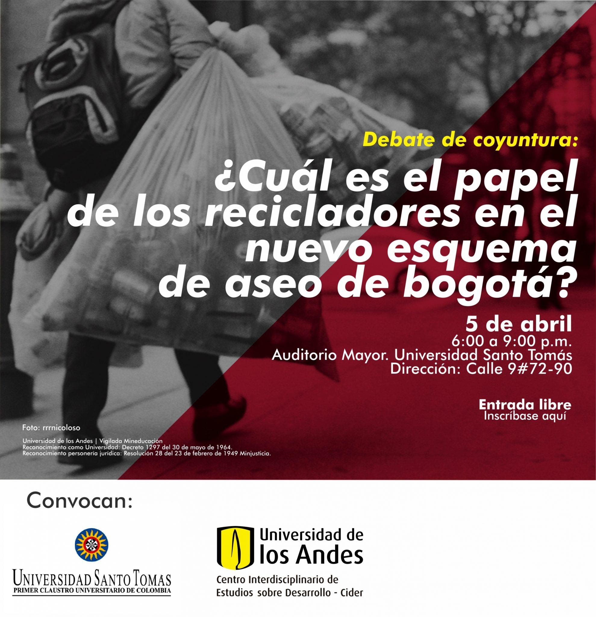 ¿Cuál es el papel de los recicladores en el nuevo esquema de aseo de Bogotá?